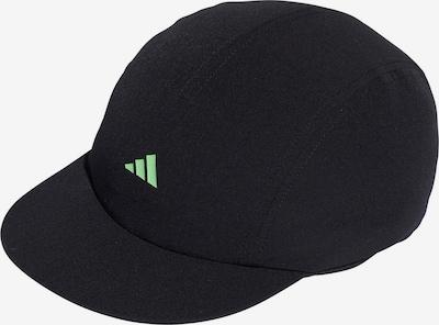 ADIDAS PERFORMANCE Cap in neongrün / schwarz, Produktansicht