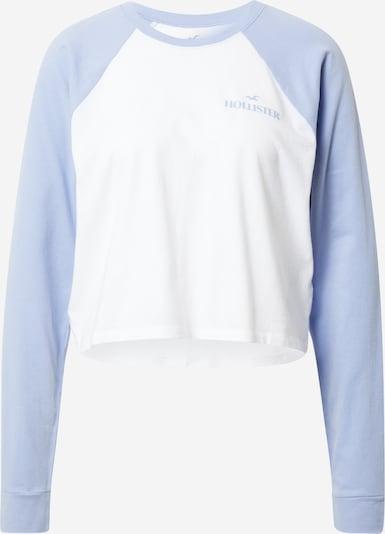 HOLLISTER T-shirt en bleu roi / blanc, Vue avec produit