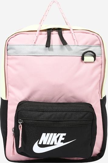 Nike Sportswear Mugursoma 'TANJUN', krāsa - pasteļdzeltens / vecrozā / melns, Preces skats