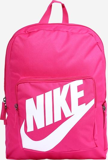 Nike Sportswear Mugursoma rozā / balts, Preces skats