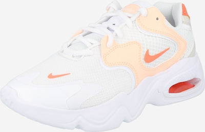 Nike Sportswear Sneakers low 'Air Max 2X' in Coral / Peach / White, Item view