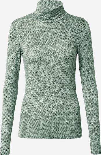 Gestuz Shirt 'Sirin' in mint / dunkelgrün, Produktansicht