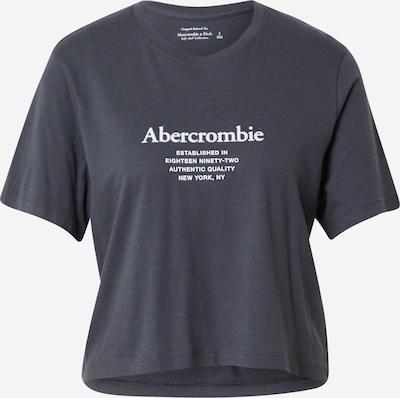 Abercrombie & Fitch T-shirt i mörkgrå / vit, Produktvy