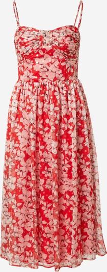 Traffic People Poletna obleka 'Darcy' | zlata / svetlo roza / rdeča barva, Prikaz izdelka