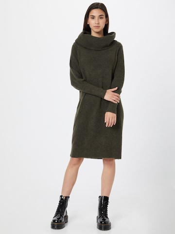 ONLY Gebreide jurk 'Stay' in Groen