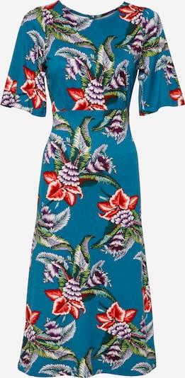 King Louie Kleid 'Uma Topanga' in himmelblau / grün / lila / rot / weiß, Produktansicht