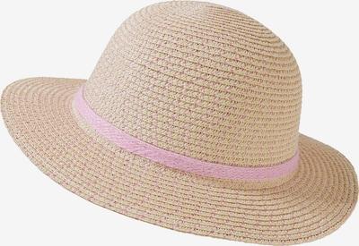 STERNTALER Hut in beige / hellpink, Produktansicht