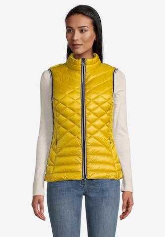 GIL BRET Vest in Yellow