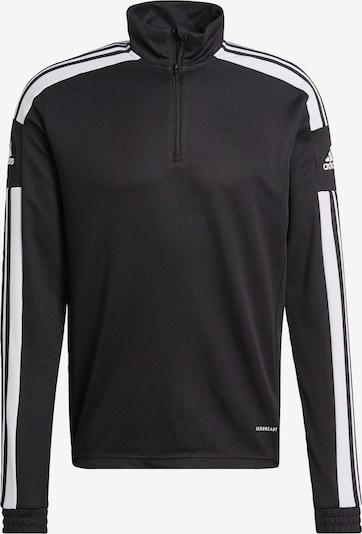 ADIDAS PERFORMANCE Sportsweatshirt 'Squadra 21' in schwarz / weiß, Produktansicht