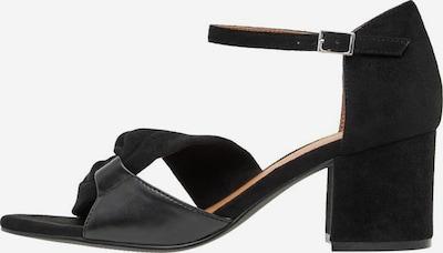 Bianco Strap Sandals in Black, Item view