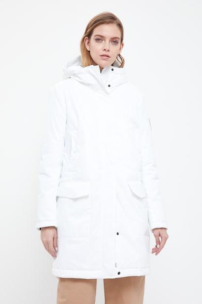 Finn Flare Mantel in weiß, Modelansicht