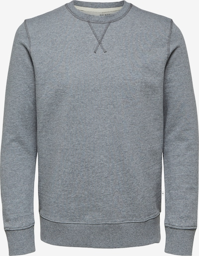 SELECTED HOMME Sweatshirt 'SLHJASON' in graumeliert, Produktansicht