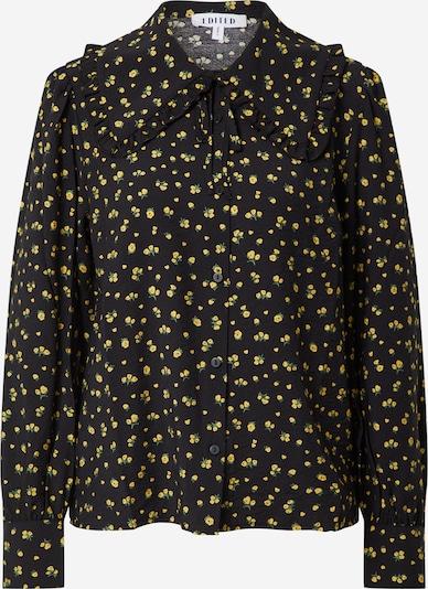 EDITED Bluse 'Rosalie' in gelb / grün / schwarz, Produktansicht