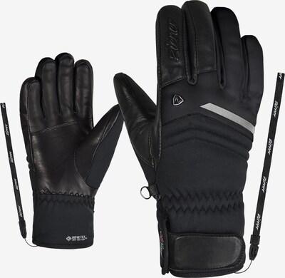 ZIENER Skihandschuhe 'KAHILI GTX' in schwarz, Produktansicht