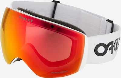 OAKLEY Lunettes de sport 'Flight Deck' en orange / rouge orangé / noir chiné / blanc naturel, Vue avec produit