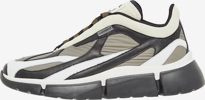 J.Lindeberg Sneaker 'Sane' in grau / dunkelgrün / weiß, Produktansicht