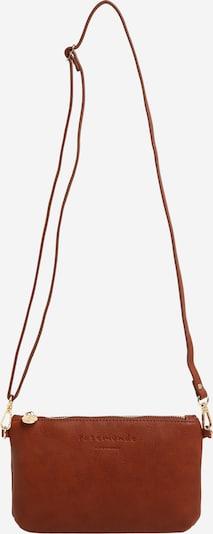 Clutch rosemunde pe maro ruginiu, Vizualizare produs