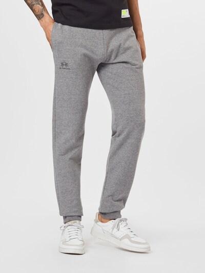 Pantaloni La Martina pe gri amestecat, Vizualizare model