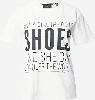 VERO MODA Shirt 'Marilyn' in de kleur Zwart / Wit, Productweergave