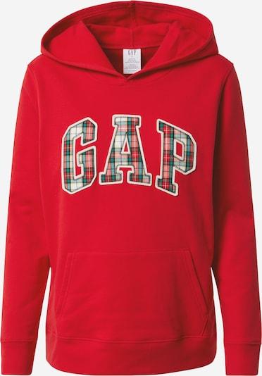 GAP Mikina - nefritová / zmiešané farby / červená melírovaná / čierna / biela, Produkt