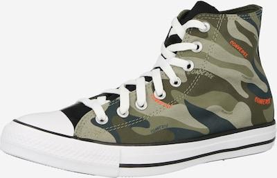 CONVERSE Sneaker 'CTAS' in dunkelgrau / khaki / oliv, Produktansicht