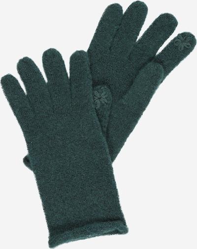 ESPRIT Full finger gloves in dark green, Item view