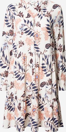 TOM TAILOR Kleid in mischfarben / weiß, Produktansicht