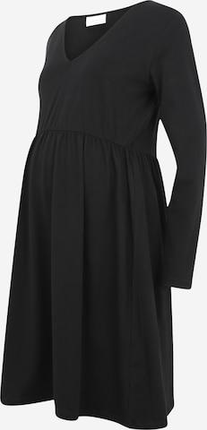 Mamalicious Curve Dress 'SANNIE' in Black