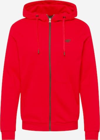 Veste de survêtement 4F en rouge