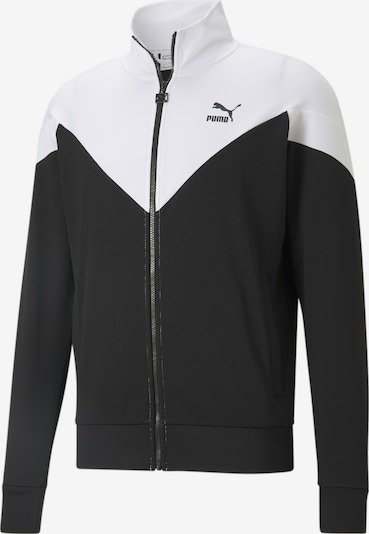 PUMA Sportjas in de kleur Zwart / Wit, Productweergave