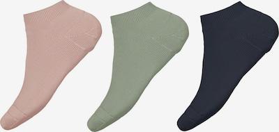 NAME IT Sokken 'Vira' in de kleur Navy / Pastelgroen / Rosa, Productweergave