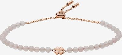 FOSSIL Armband in rosegold / weiß, Produktansicht