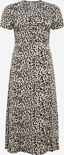 Missguided Plus Šaty 'Tea' - černá / bílá, Produkt