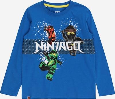 LEGO WEAR Camiseta en azul / verde / rojo / negro / blanco, Vista del producto