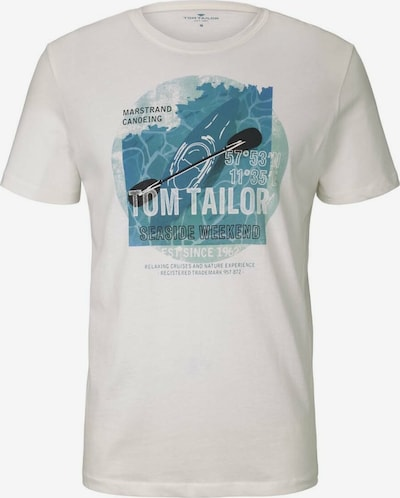TOM TAILOR T-Shirt in weiß, Produktansicht