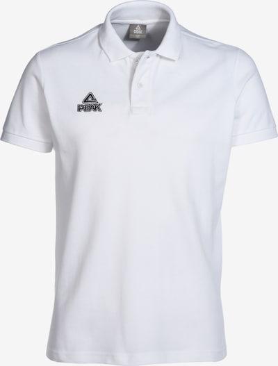 PEAK Trainingsshirt in weiß: Frontalansicht
