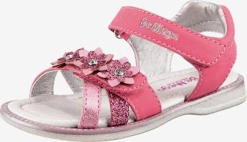 Be Mega Sandalen in Pink