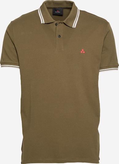 Peuterey Shirt in de kleur Lichtgrijs / Kaki / Wit, Productweergave
