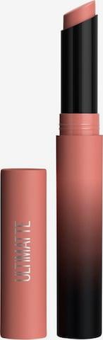 MAYBELLINE New York Lippenstift 'Color Sensational Ultimatte' in Beige
