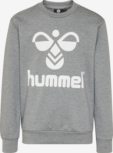 Hummel Sweatshirt in graumeliert / weiß, Produktansicht