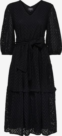 SELECTED FEMME Kleid 'Cece-Sadie' in schwarz, Produktansicht