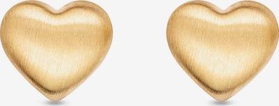 FAVS Ohrstecker   ' Herz ' in gold, Produktansicht