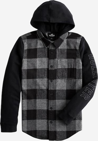 HOLLISTER Bluza rozpinana w kolorze jasnoszary / ciemnoszary / czarnym, Podgląd produktu