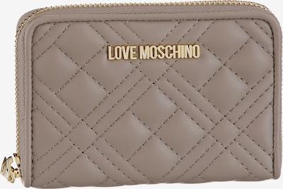 Love Moschino Geldbörse in greige, Produktansicht