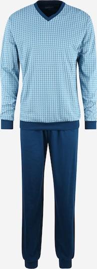 SCHIESSER Pyžamo dlouhé - světlemodrá / tmavě modrá, Produkt