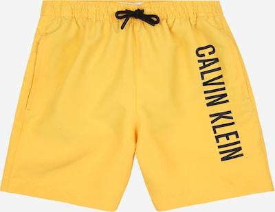 Calvin Klein Swimwear Zwemshorts in de kleur Geel / Zwart, Productweergave