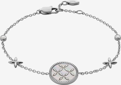 ezüst / fehér FOSSIL Karkötő, Termék nézet