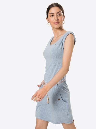 Ragwear Kleid in hellblau, Modelansicht