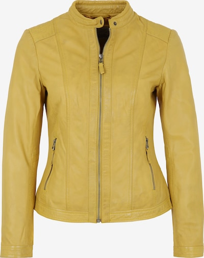 7ELEVEN Lederjacke 'RESI' in gelb, Produktansicht