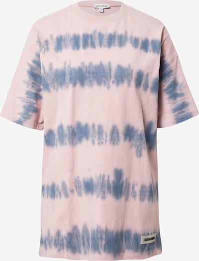 Public Desire Široka majica | modra / roza barva, Prikaz izdelka